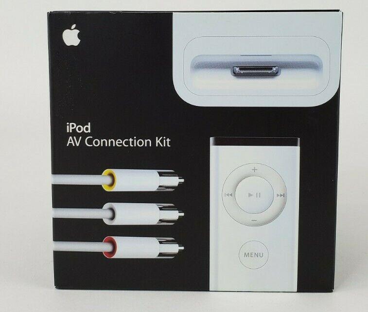 Apple iPod AV Connection Kit Brand New Sealed Free Shipping