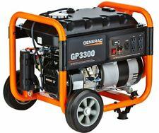 Generac GP3300 - 3,300 Watt Portable Generator, 50-ST/CARB, 6432