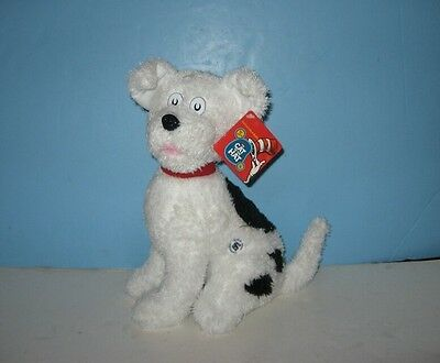 "New 12"" Cat in the Hat Puppy Dog NEVIN Bean Stuffed Plush Animal"