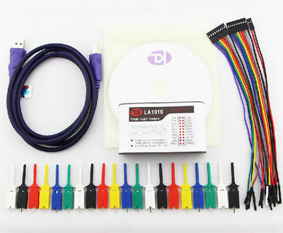 La1010 Usb Logic Analyzer For Arm Fpga 16ch 100mhz