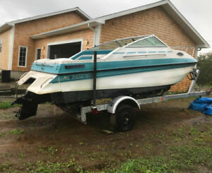 BOAT 20' Grew4.3L Cabin Cuddy**REDUCED from $7500***with trailer