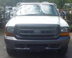 2001 Ford F250 Ute White 2WD