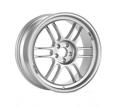 Enkei RPF1 17 x 8.5 Wheel Lightweight Racing Silver 5 x 114.3 + 30 offset  for sale  Shipping to Canada