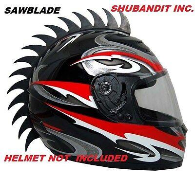 Motorcycle Helmet Dirt Biker Bmx Mohawk Biker Helmets Mohawks Spikes Rubber 3M