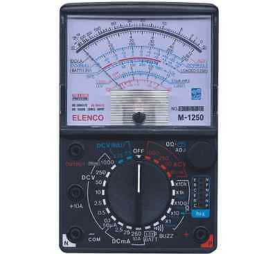Elenco M-1250-k 23 Range 20kv Vom Analog Multimeter Kit New