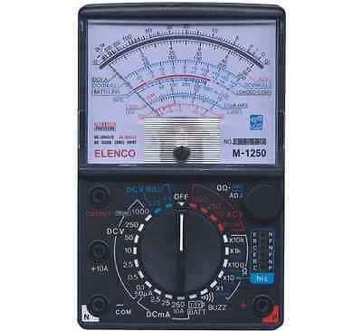 Elenco M-1250-k 23 Range 20kv Vom Analog Multimeter Kit New