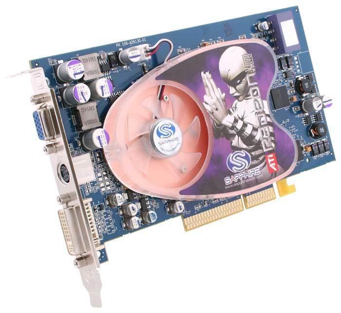 SCHEDA GRAFICA AGP_ATI RADEON  256 MB _ X800GT  < SAPPHIRE RADEON  >