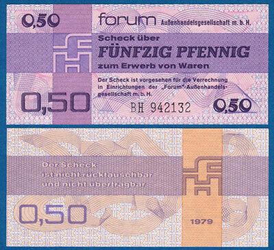 DDR 0,50 Mark Forum  KASSENFRISCH  Ro.367 / Pick FX1