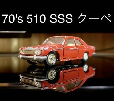 Tomica Nissan NEW Bluebird SSS Coupe Datsun 510 scale size 1/60 70's From JAPAN