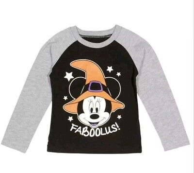 nwt disney size 12 month minnie mouse Halloween shirt Mickey Mouse