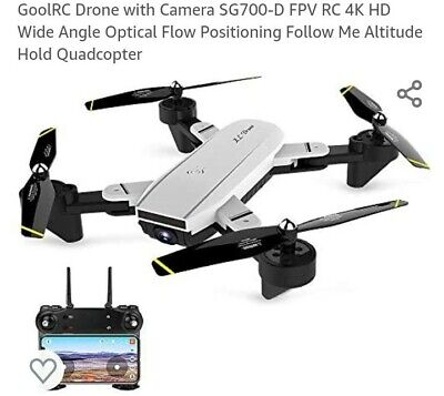 Cooligg S169 Quadcopter Drone With HD Camera Selfie 2MP WiFi FPV 4K HD.