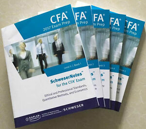 CFA Level II 2017 Schweser Notes - complete bookset