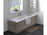 Grey Avola Side Bath Panel 1700mm Brand New Boxed