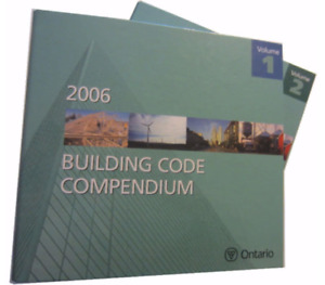 2006 Ontario Building Code Volume 1 & 2