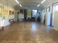 Small Hall Hire at Underhill School- Contact us for pricing PER HOUR!