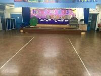 Hall Hire at Underhill School - Contact us for pricing PER HOUR!