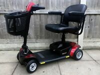 Pride Go-Go Elite Traveller LX 4 Wheel Boot Mobility Scooter – New Batteries