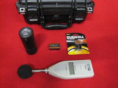 Cirrus Cr306 Sound Level Meter Cr514 Acoustic Calibrator