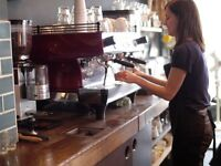 Cafe Assistant, Balham, London. Unique and award winning speciality coffee shop and boutique