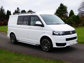 VW T5 140bhp pop up roof 4 berth