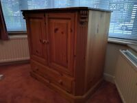 Solid Pine TV Cabinet for sale