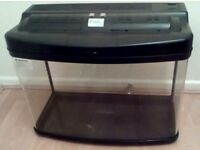 Interpet Fish Pod Glass Aquarium, 64 L (had some use)