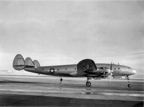 "USAAF Lockheed Constellation (C-69) ((8.5""x11"")) Print"