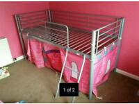 Cabin loft bed metal childrens kids