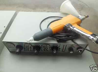 Portable Lab Electrostatic Powder Coat Paint System Coating Machine 220v S