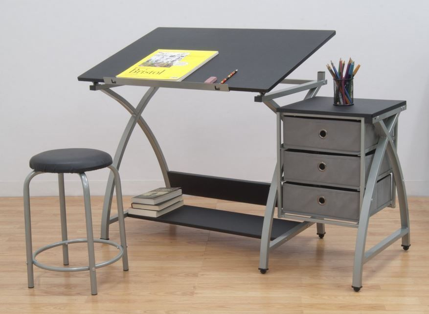 how to make an art table ebay. Black Bedroom Furniture Sets. Home Design Ideas