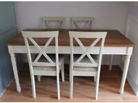 Heart of House Ellingham Dining Table - 4 Chairs