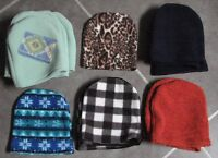 Fleece Sewing Fabric - Pieces or Yardage - Wanted for Kid's Hats