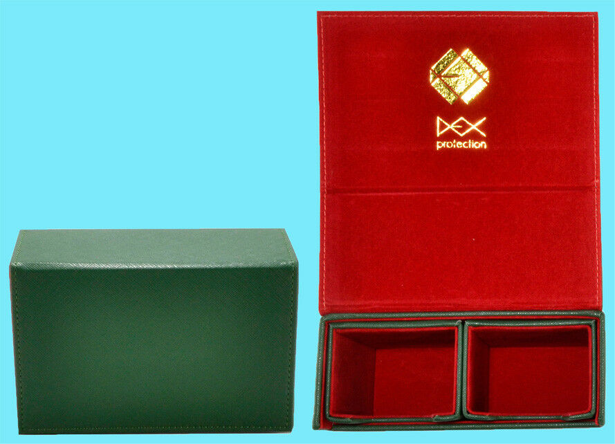 DEX Protection Deck Box: The Dualist - Green