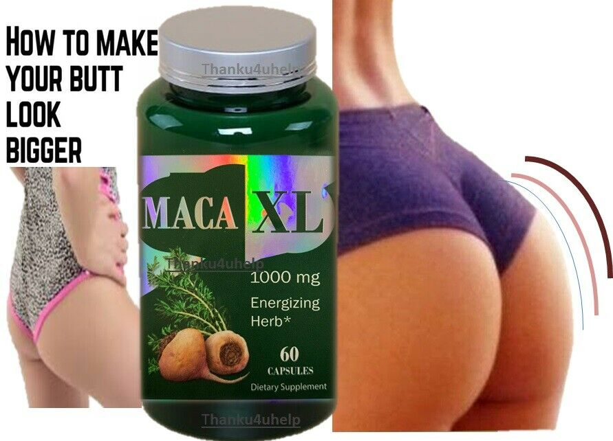 BOOTY ENLARGER PILLS bigger butt lift glutes hips thighs Enlargement Enhancement