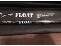 NEW - Matt Hayes TF Gear Commercial Float Fishing Rod 3pc 13ft & Bag - Suitable for all Fishing