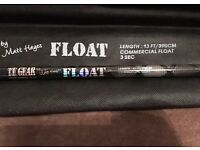 NEW - Matt Hayes TF Gear Commercial Float Fishing Rod 3pc 13ft & Bag