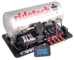 Air Ride Technologies AirPod w/3 gal. Tank, & Control   Ridetech