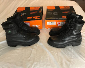 bdb51431b2e9 Stc blitz and stc Churchill work boots size 8.5.