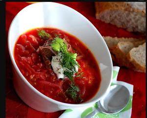 Ukrainian Supper -  delicious homemade food