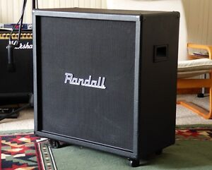 """Randal 4x12"""" Cabinet Stereo/Mono Input w/FREE Cover - OpenBox"""