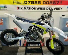 2022 HUSQVARNA TC 50....UNUSED...£3795....MOTO X CHANGE