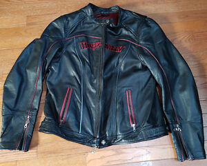 Harley Davidson women's three in one leather jacket-new no tags