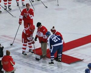 LEAFS WINGS OUTDOOR GAME JAN 1ST BMO FIELD SECTION 121 ROW 14