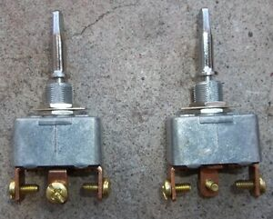 2 - HEAVY DUTY 35 amp 3 WAY TOGGLE SWITCHES