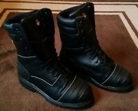 Steel Toe Boots, 10-1/2, Never Worn