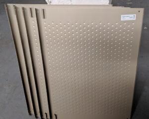 4 tablettes en métal pour souliers  Ikea Komplement Pax 75x58 cm
