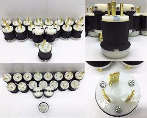 Lot de connecteurs mâles Nema L6-30 30A 250V à vendre