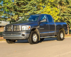 =`  DODGE RAM, 4x4, 5.7L, LOW km, PRICED TO GO, OBO