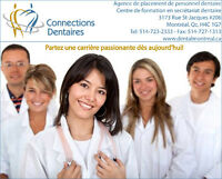 Chef de bureau de clinique dentaire! Dental clinic manager!