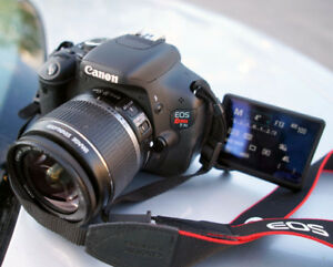 Canon T3i DSLR + 18-55MM IS LENS + CHARGER
